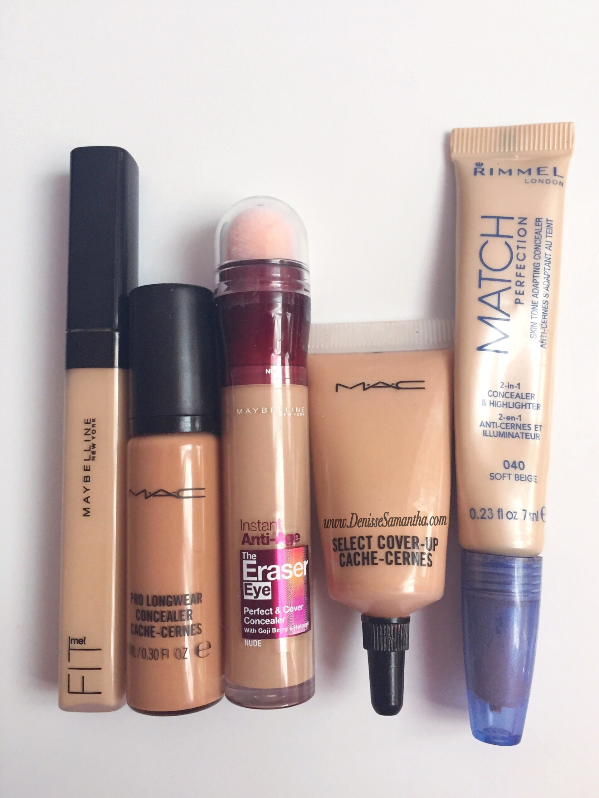 My Top 5 Concealers of all Time