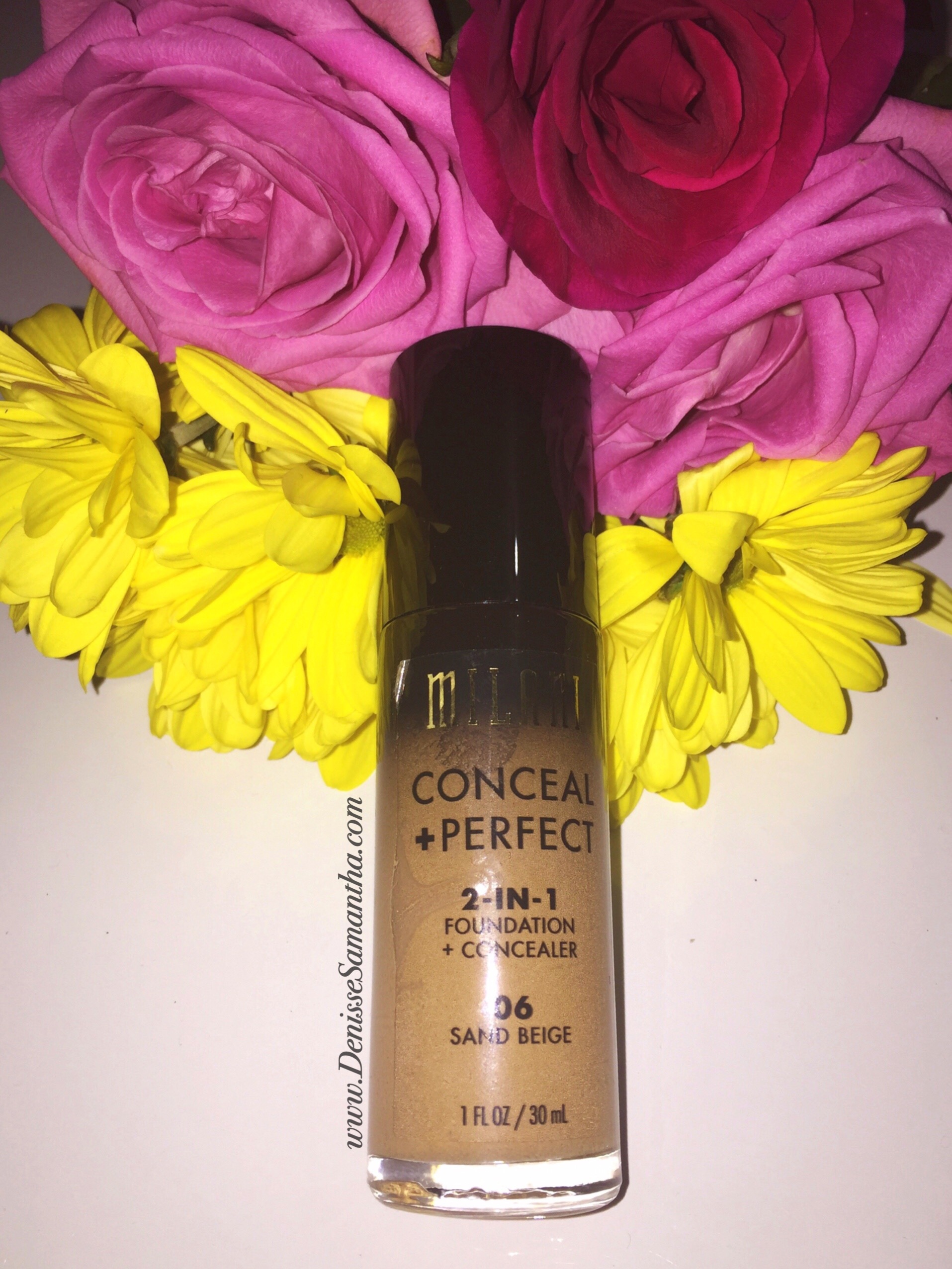Milani Conceal and Perfect 2-in-1 Foundation and Concealer Review